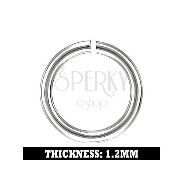 Zaključni člen iz nerjavečega jekla, 6mm