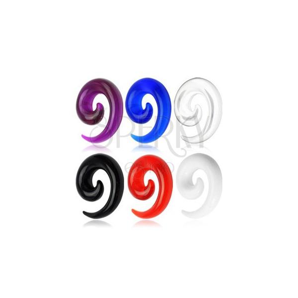 Pisan akrilen spiralen UV-razširjevalnik