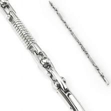 Zapestnica iz kirurškega jekla - vzmet in premičen valj