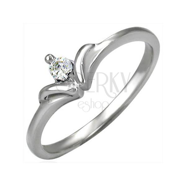 Zaročni prstan s kraljevsko krono