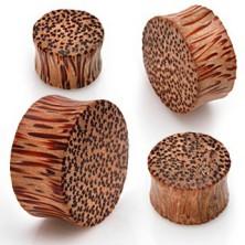 Sedlast vstavek za uho iz lesa kokosa