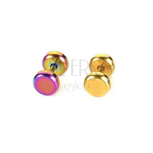 Barvit piercing za tragus iz nerjavečega jekla