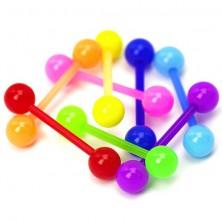 Palčka za jezik - neonske barve