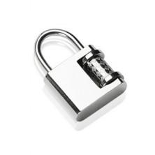 Obesek s ključavnico iz nerjavečega jekla