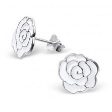 Uhani iz srebra 925 - vrtnica